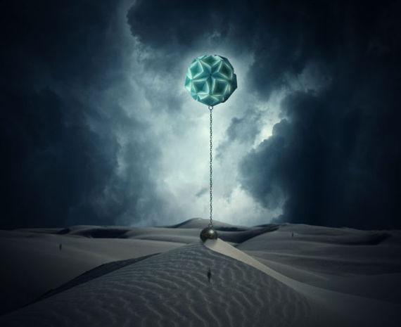 """超现实主义""""离心""""教程<br /> http://psd.fanextra.com/tutorials/photo-effects/photo-manipulate-a-surreal-gravity-defying-desert-scene/"""