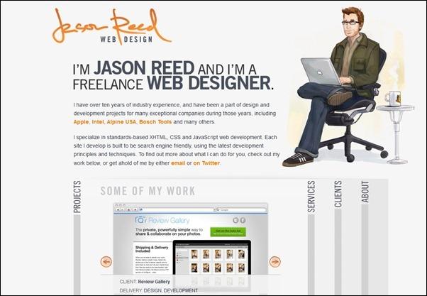 Jason Reed<br /> http://www.jasonreedwebdesign.com/