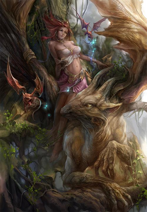 Forest Elf<br /> http://derricksong.deviantart.com/art/Forest-Elf-349325765
