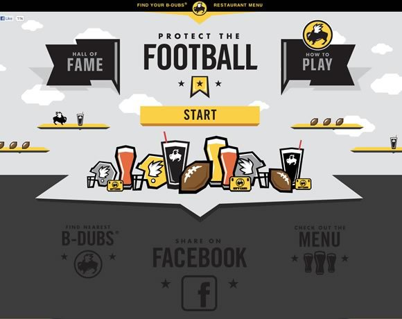 Protect the Football<br /> http://www.buffalowildwings.com/protectthefootball/