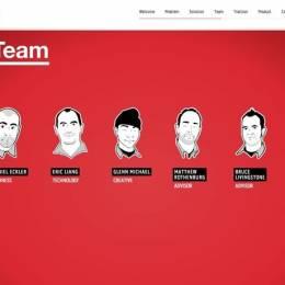 带有插画元素的创意网站欣赏