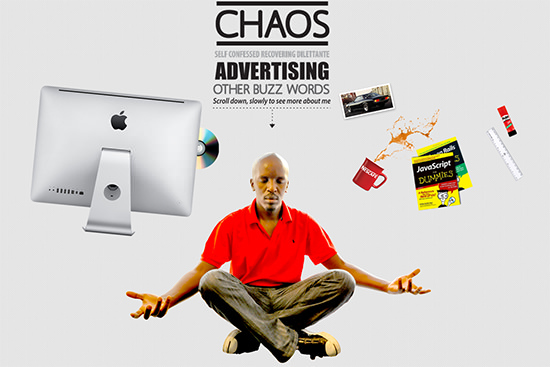 chaos by Charles Gichuki<br /> http://www.chaos.co.ke/