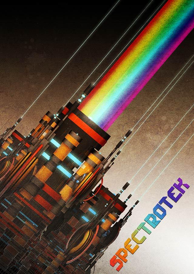 SpectroTek<br /> http://www.behance.net/gallery/SpectroTek/224132