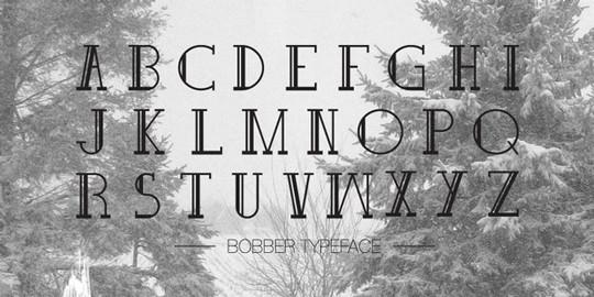 Bobber Typeface<br /> http://www.behance.net/gallery/Bobber-Typeface/3371595