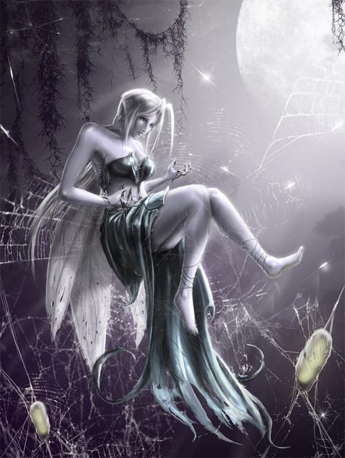 月亮仙子<br /> http://ptitvinc.deviantart.com/art/moon-fairy-134943744