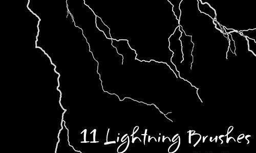Lightning Brushes<br /> http://doac-res.deviantart.com/art/Lightning-Brushes-22612904