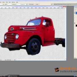 如何用photoshop制作一张老式卡车招贴