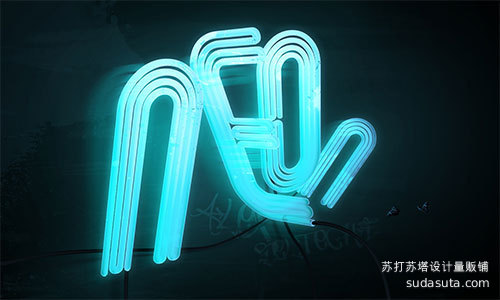 怎样绘制3D霓虹灯排版<br /> https://tutsplus.com/tutorial/how-to-make-3d-neon-light-typography/