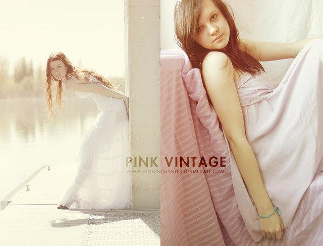 Pink Vintage Action<br /> http://eliseenchanted.deviantart.com/art/Pink-Vintage-Action-196897220