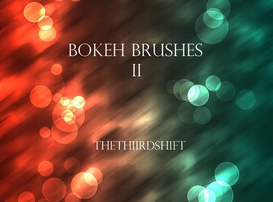 背景虚化的画笔II<br /> http://thethiirdshift.deviantart.com/art/Bokeh-Brushes-II-203865343
