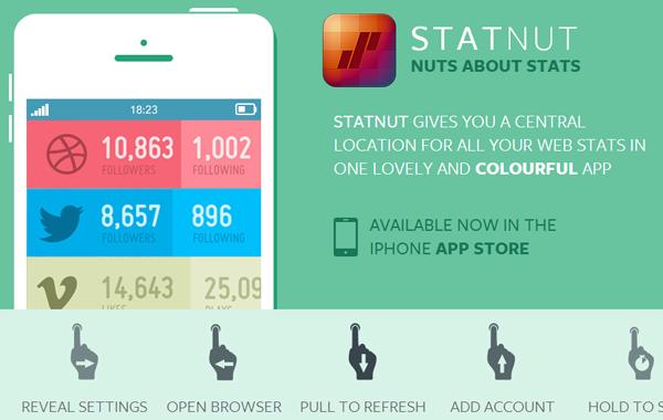 Statnutapp ios iphone app mobile website