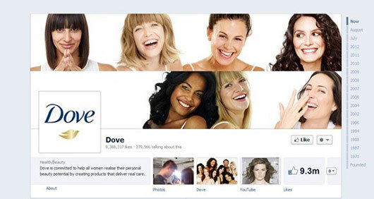 Dove<br /> https://www.facebook.com/dove