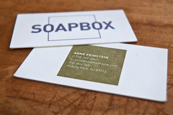 Soapbox<br /> http://www.behance.net/gallery/SOAPBOX-Brand-Identity/4771785