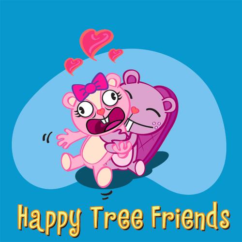 在Illustrator中的快乐树朋友<br /> http://abduzeedo.com/happy-tree-friends-illustrator