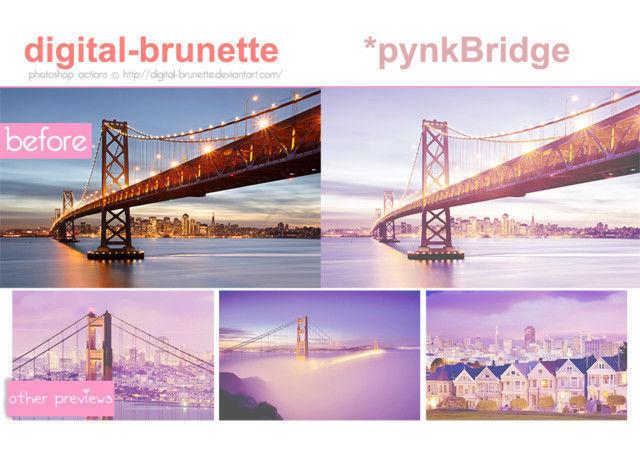 PynkBridge<br /> http://digital-brunette.deviantart.com/art/pynkBridge-321338196