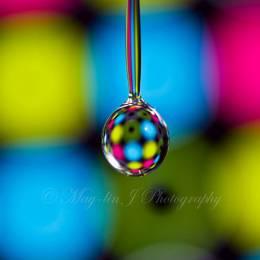 水滴的折面 图片素材分享