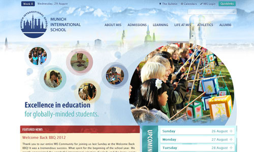 Munich International School<br /> http://www.mis-munich.de/%22