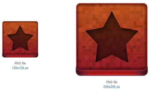 红星图标<br /> 48×48像素,64×64像素,96×96像素,128×128像素和256×256像素<br /> http://www.softicons.com/free-icons/system-icons/kaito-icon-set-by-tooschee/red-star-icon