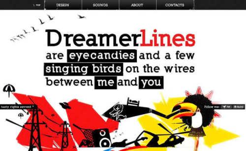 50个富有创造力的个人作品网站(4)