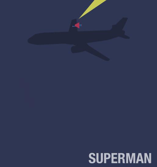 Superman by Haden Yale<br /> http://haydenyale.deviantart.com/art/Minimalist-Superman-v2-305463377