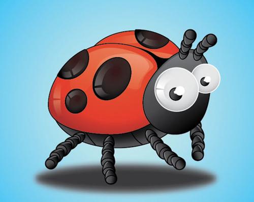 使用Adobe Illustrator创建一个瓢虫<br /> http://www.webdesign.org/vector-graphics/adobe-illustrator/create-lady-birds-insect-tutorial-using-adobe-illustrator.20954.html