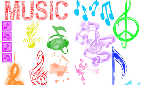 Music Notes Brushes<br /> http://fantasticalicious-xx.deviantart.com/art/Music-Notes-Brushes-127253033