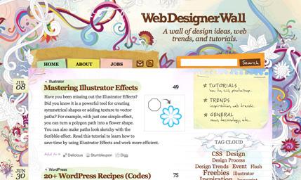 15个应用了水彩效果的网站分享