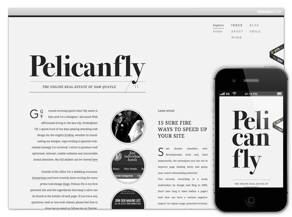 Pelicanfly<br /> http://www.pelicanfly.co.uk/