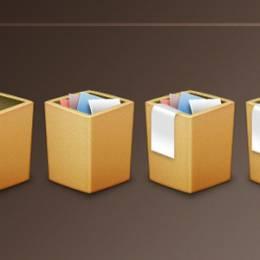 20套盒子图标素材免费下载