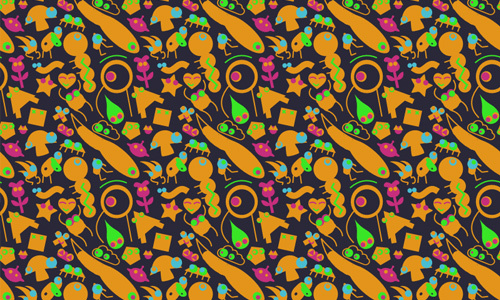 We Are Monsters<br /> http://www.colourlovers.com/pattern/1057491/we_are_monsters