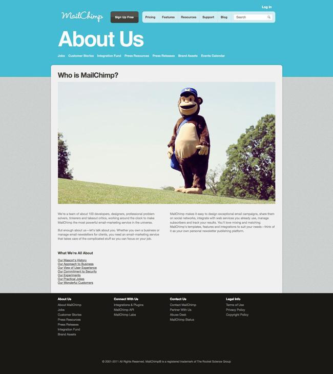 MailChimp<br /> http://mailchimp.com/about/