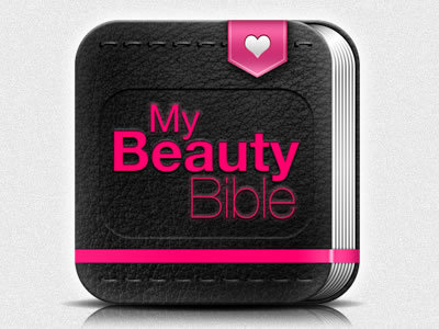 My Beauty Bible http://dribbble.com/shots/807191-My-Beauty-Bible-Icon