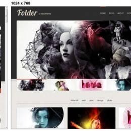 20免费的响应网页 HTML & CSS 模板