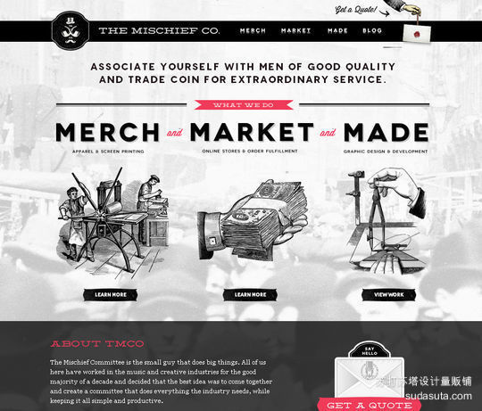 The Mischief Co<br /> http://themischiefco.com/