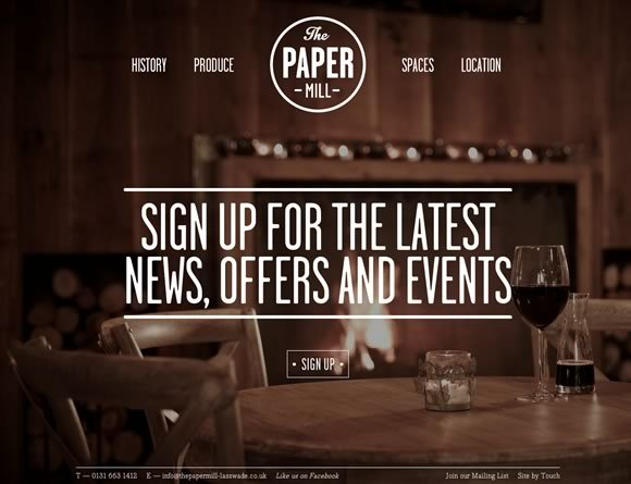 The Papermill<br /> http://thepapermill-lasswade.com/
