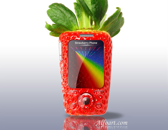 草莓手机<br /> http://alfoart.com/strawberry_phone_1.html