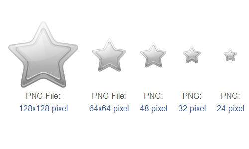 星空联盟银卡会员图标<br /> 6像素,24PX,32px,48像素,64x64px和128x128px<br /> http://www.iconarchive.com/show/shop-icons-by-newidols.ru/star-silver-icon.html