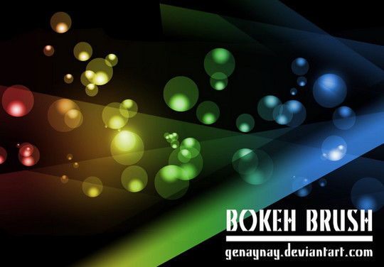 散景光笔刷<br /> http://genaynay.deviantart.com/art/Bokeh-Brush-294943481