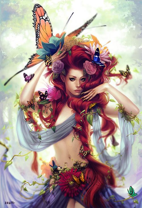 优雅<br /> http://thedesigninspiration.com/illustrations/elegance/