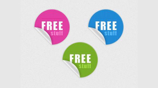 免费生动贴纸3<br /> http://www.freebiepixels.com/resources/vivid-stickers/