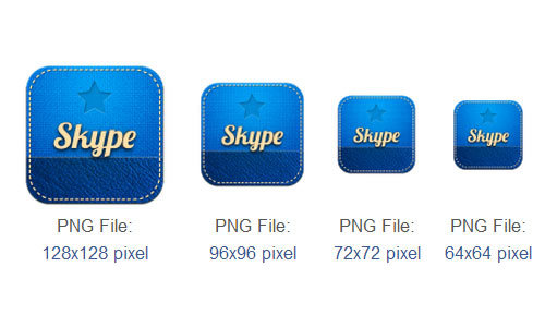 Skype图标<br /> http://www.iconarchive.com/show/retro-social-icons-by-graphics-vibe/skype-icon.html
