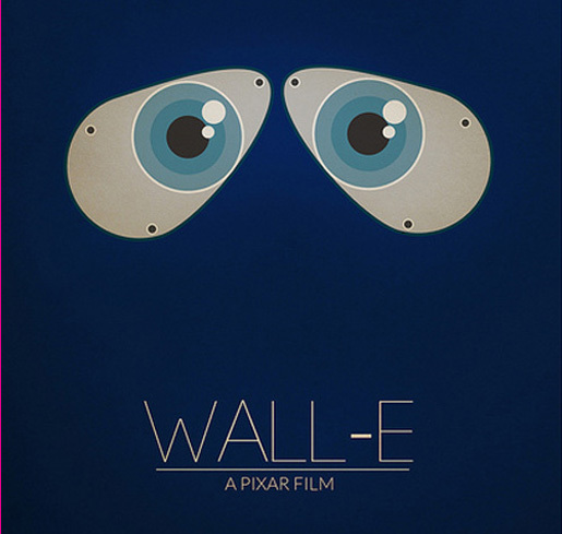 Wall-E by Tom Cross<br /> http://www.flickr.com/photos/tomcrossdesign/5446094366/