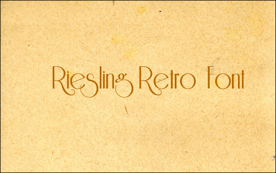 Riesling<br /><br /> http://www.dafont.com/riesling.font?text=Riesling+Retro+Font