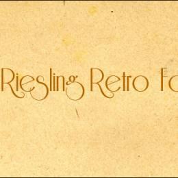 10个高品质复古英文字体分享