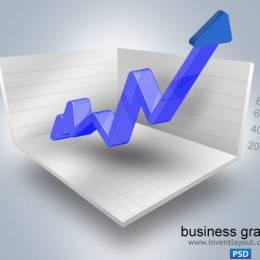 14个免费的商业图表图形的PSD和矢量文件