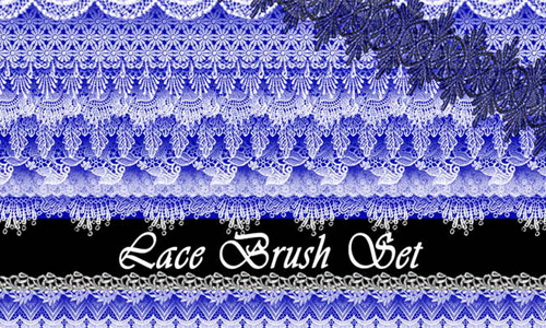 Lace Brushes<br /> http://ssdema.deviantart.com/art/Lace-Brushes-213160442