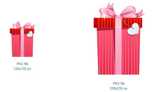 礼品图标<br /><br /> 32×32像素,48×48像素,64×64像素,96×96像素,128×128像素和256×256像素<br /><br /> http://www.softicons.com/free-icons/holidays-icons/heart-romance-icon-set-by-daily-overview/gift-icon