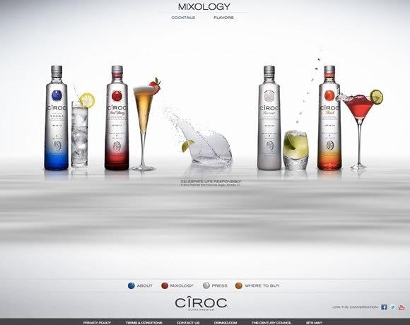 Ciroc Mixology<br /> http://www.ciroc.com/#!/mixology-cocktails