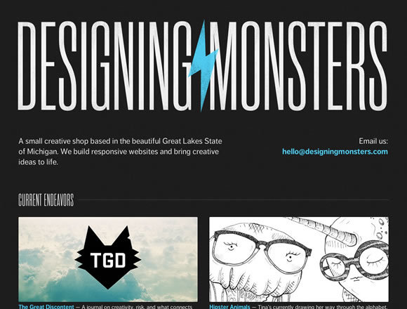 Designing Monsters<br /> http://designingmonsters.com/
