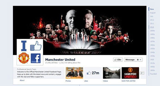 Manchester United<br /> https://www.facebook.com/manchesterunited